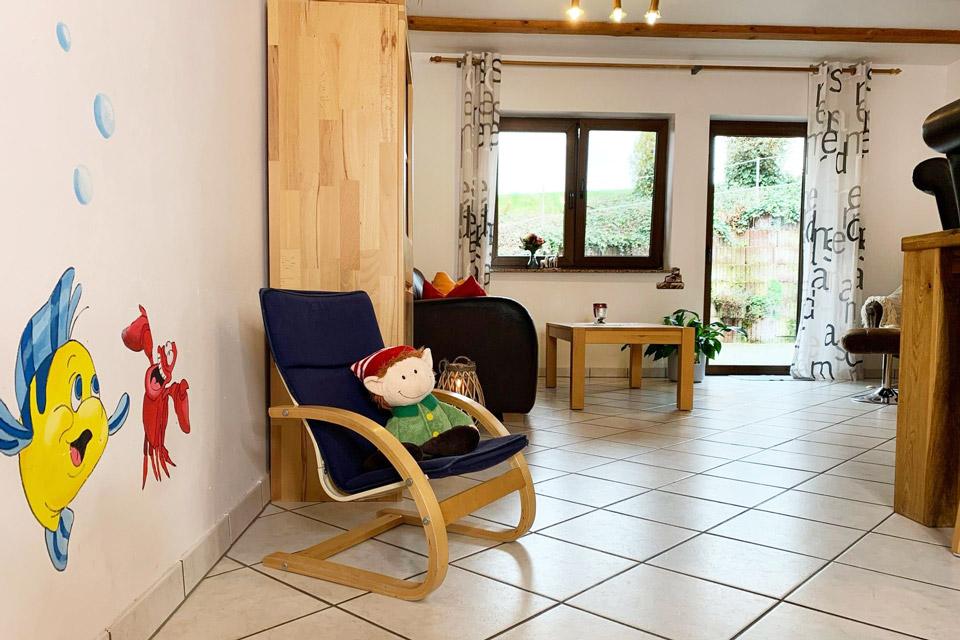 Bauernhof- und Landurlaub in Hessen - Kinderbauernhof Dingeldey Ferienwohnung Arielle