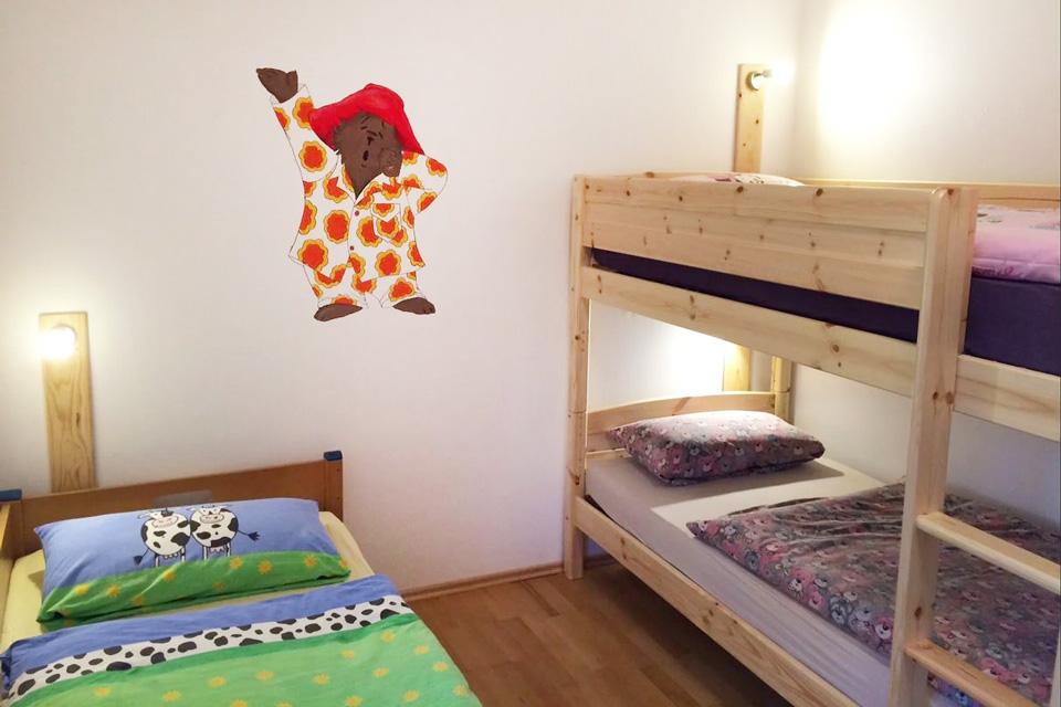 Bauernhof- und Landurlaub in Hessen - Kinderbauernhof Dingeldey Ferienwohnung Paddington