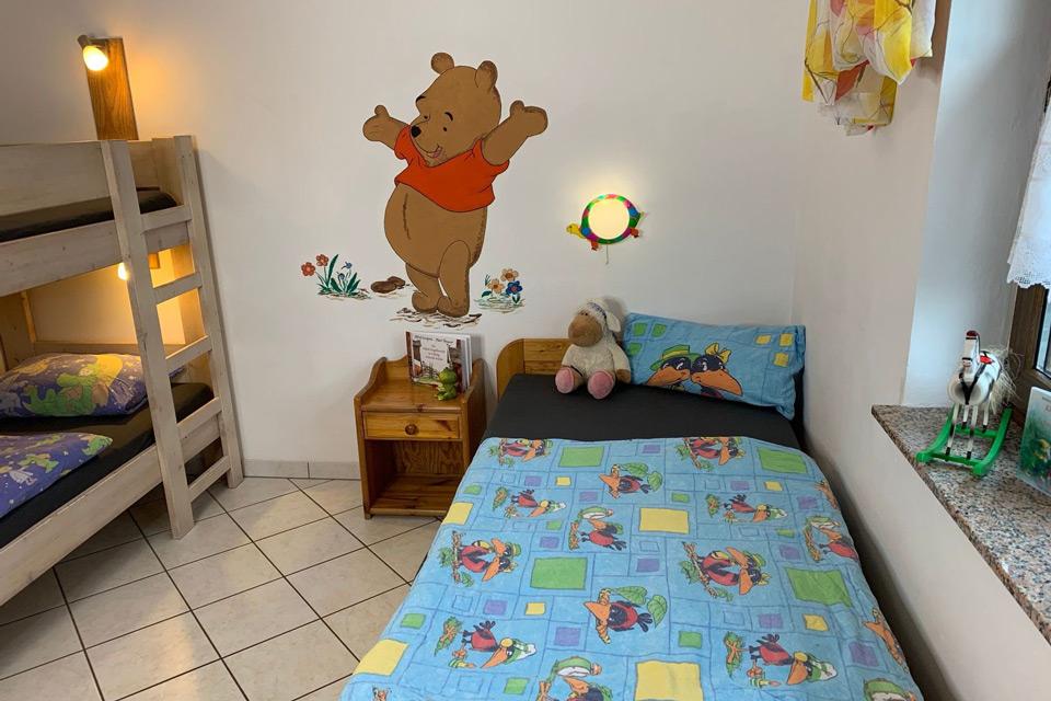 Bauernhof- und Landurlaub in Hessen - Kinderbauernhof Dingeldey Ferienwohnung Winnie Puuh