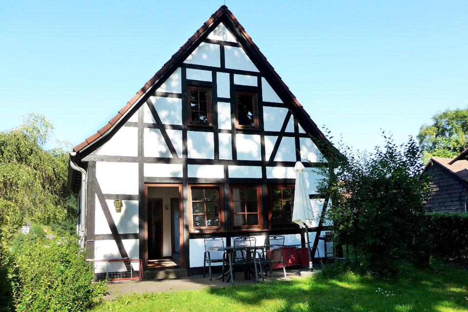 Bauernhof- und Landurlaub in Hessen - Waldhubenhof Ferienhaus 1