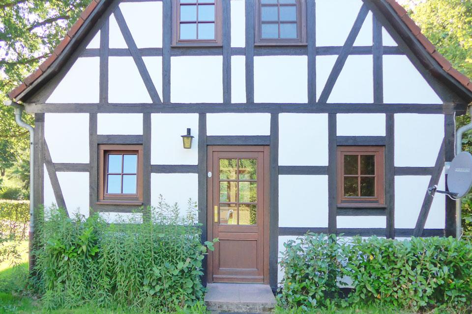 Bauernhof- und Landurlaub in Hessen - Waldhubenhof Ferienhaus 2