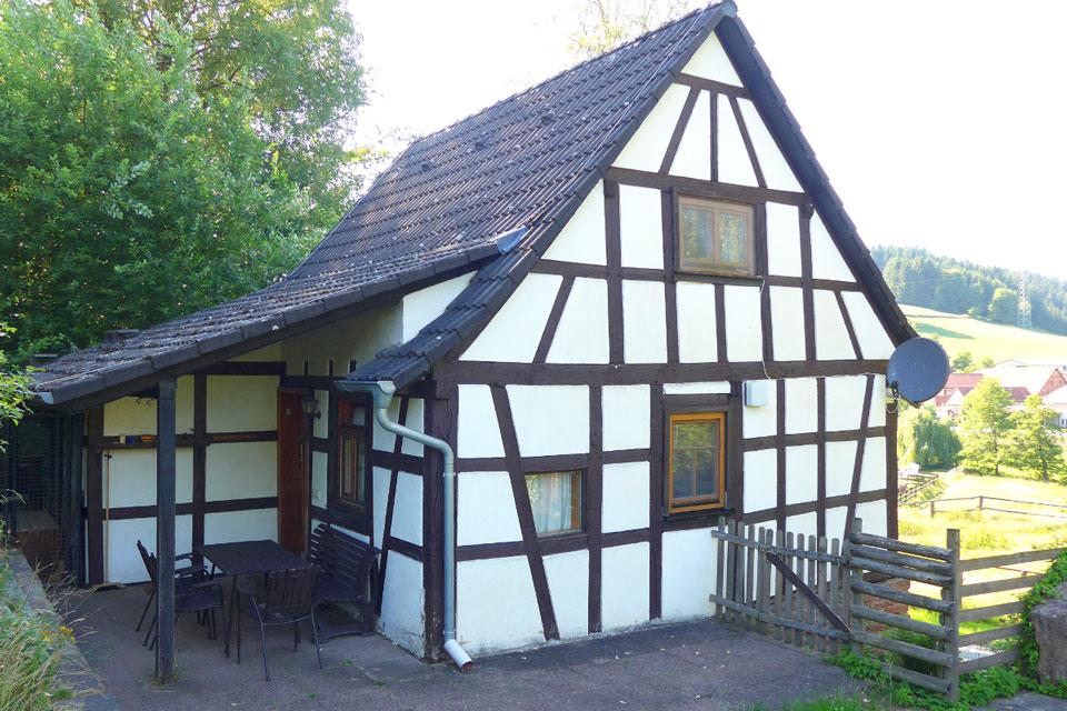 Bauernhof- und Landurlaub in Hessen - Waldhubenhof Ferienhaus 3