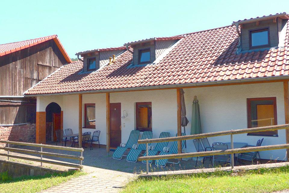 Bauernhof- und Landurlaub in Hessen - Waldhubenhof Ferienwohnung 4