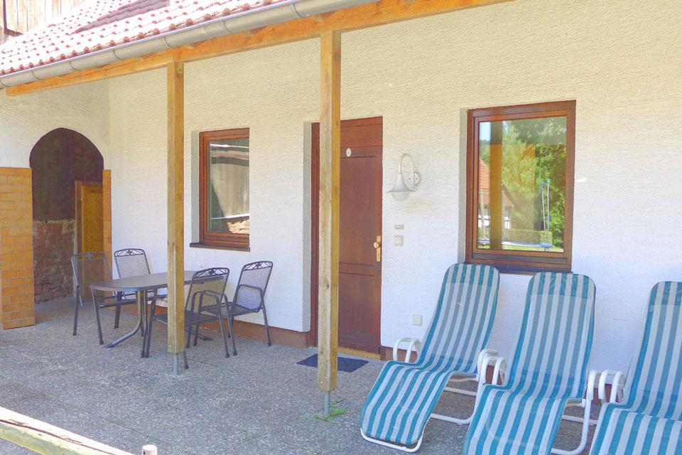 Bauernhof- und Landurlaub in Hessen - Waldhubenhof Ferienwohnung 5