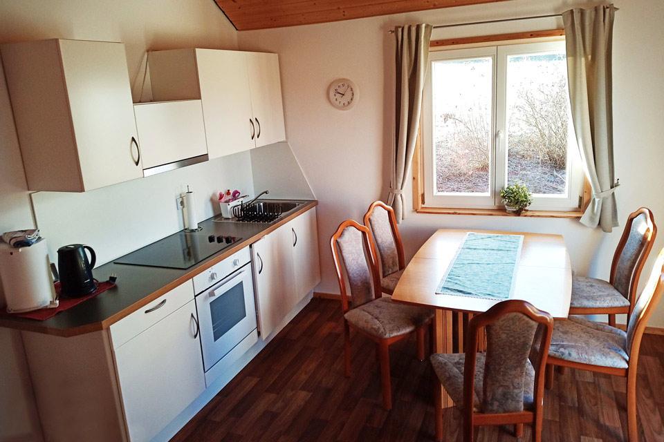 Bauernhof- und Landurlaub in Hessen - Islandpferdegestüt Mitteltalhof Ferienhaus Rotes Haus Nr.1