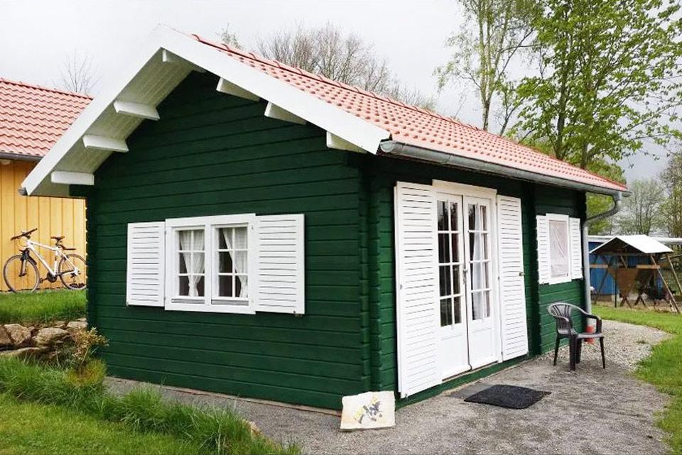 Bauernhof- und Landurlaub in Hessen - Islandpferdegestüt Mitteltalhof Ferienhaus Grünes Haus Nr.3