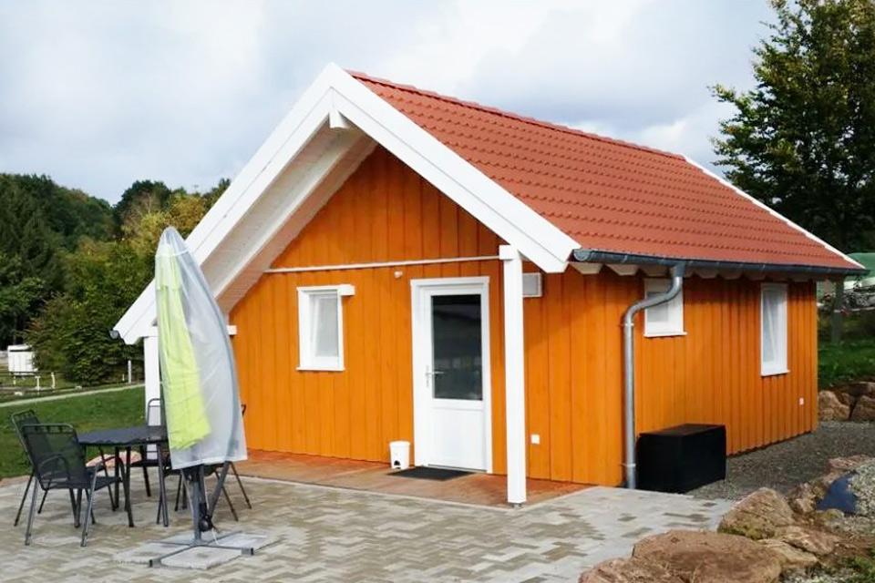 Bauernhof- und Landurlaub in Hessen - Islandpferdegestüt Mitteltalhof Ferienhaus Gelbes Haus Nr.6