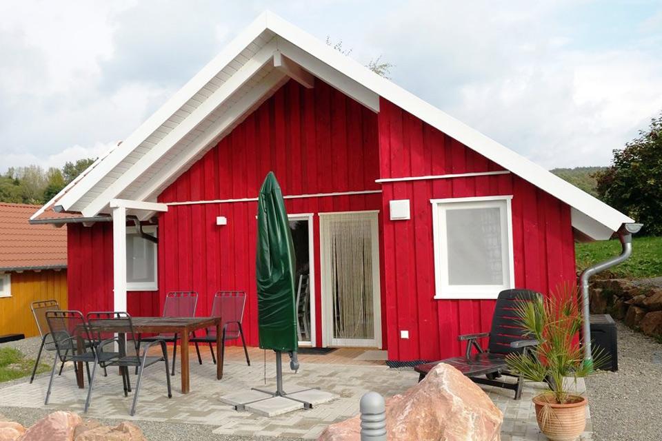 Bauernhof- und Landurlaub in Hessen - Islandpferdegestüt Mitteltalhof Rotes Familien Haus Nr.7