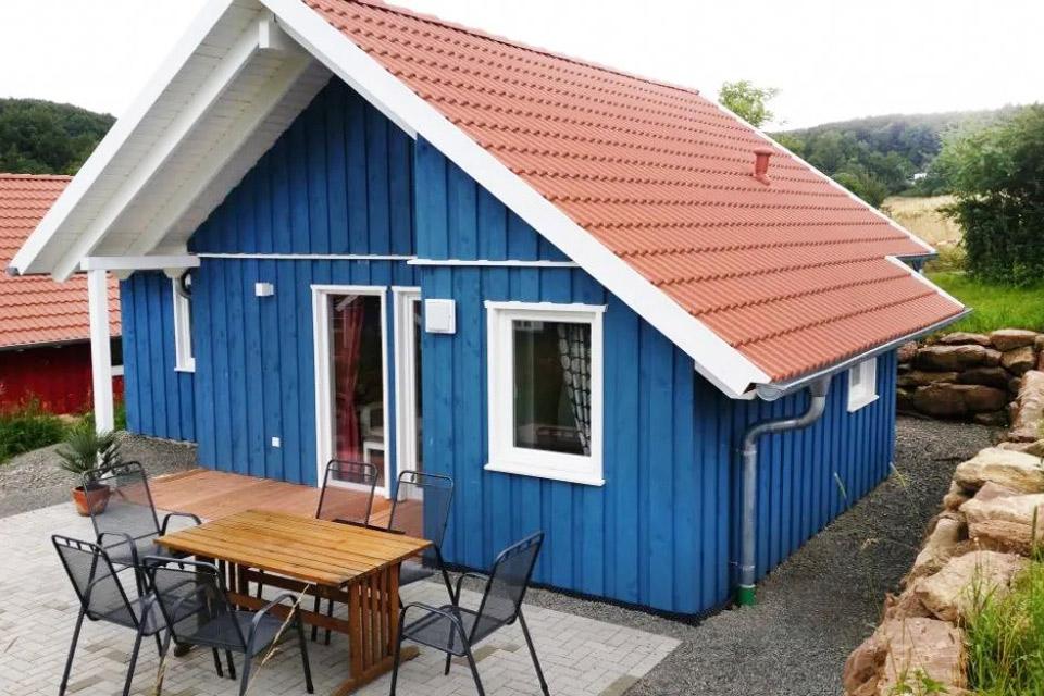 Bauernhof- und Landurlaub in Hessen - Islandpferdegestüt Mitteltalhof Blaues Familien Haus Nr.8